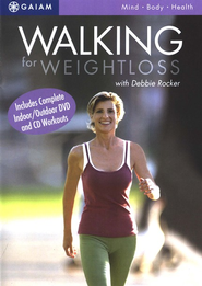 Walking for Weight Loss DVD   -     By: Debbie Rocker
