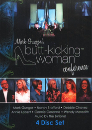 Butt-Kicking Woman Conference, DVD   -     By: Mark Gungor