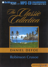 Robinson Crusoe                    - Audiobook on MP3 CD-ROM  -     By: Daniel Defoe