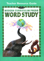 Modern Curriculum Press (MCP) Word Study Level E Teacher Resource Guide (1998/2003 Edition)  -