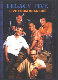 Legacy Five: Live from Branson, DVD     -
