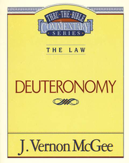 Deuteronomy Thru The Bible   -     By: J. Vernon McGee