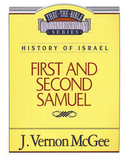 First and Second Samuel: Thru the Bible   -     By: J. Vernon McGee