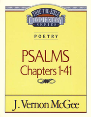 Psalms I - Thru the Bible   -     By: J. Vernon McGee