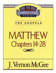 Matthew II - Thru the Bible   -     By: J. Vernon McGee