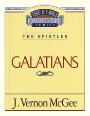 Galatians: Thru the Bible   -     By: J. Vernon McGee