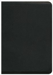 ESV MacArthur Study Bible, Premium Calfskin Leather, Black  -