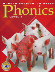 Modern Curriculum Press (MCP) Plaid Phonics Level A (2003 Edition) - Slightly Imperfect  -