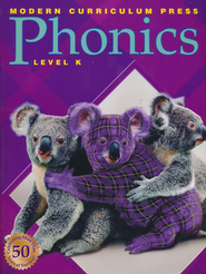 Modern Curriculum Press (MCP) Plaid Phonics Level K (2003 Edition)  -