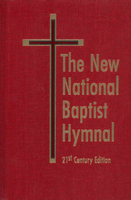 The New National Baptist Hymnal 21st Century Edition Red  -