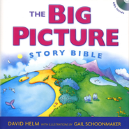 The Big Picture Story Bible: Book & Audio CDs  -              By: David Helm                   Illustrated By: Gail Schoonmaker