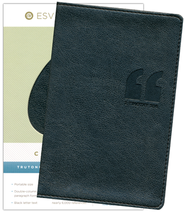 ESV Compact Bible, Trutone, Granite, Quotation Design   -