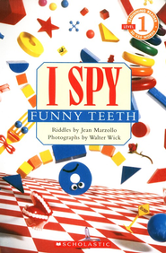 I Spy: Funny Teeth  -     By: Jean Marzollo     Illustrated By: Walter Wick