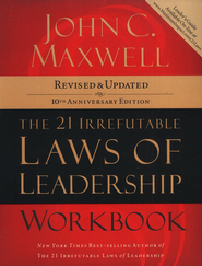 The 21 Irrefutable Laws of Leadership Workbook, revised & updated - Slightly Imperfect  -     By: John C. Maxwell