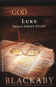 Encounters With God: Luke  -     By: Henry T. Blackaby