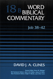 Job 38-42: Word Biblical Commentary [WBC]   -     By: David Clines