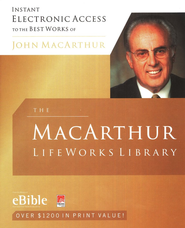 The MacArthur Lifeworks Library on CD-ROM   -              By: John MacArthur