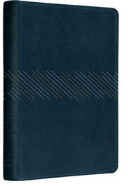 ESV Personal Size Reference Bible (TruTone, Navy, Cascade Design)  -