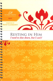 Resting in Him, Women of Faith Bible Studies   -