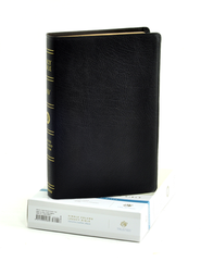 ESV Single Column Legacy Bible, Genuine Leather, black  -