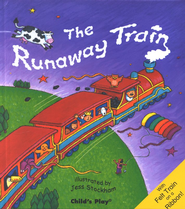 The Runaway Train   -     By: Jess Stockham Illustrator     Illustrated By: Jess Stockham