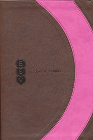 ESV Student Study Bible, TruTone, Brown/Pink, Arc Design  -