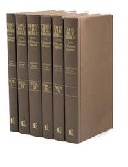 Thru the Bible Commentary Set with Index, 6 Volumes   -     By: J. Vernon McGee