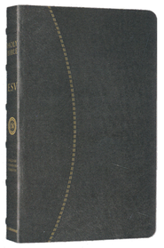 ESV Vintage Thinline Bible (Cowhide, Black, Hemisphere Design)  -