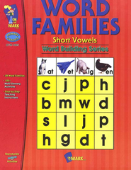 Building Word Families #1 S.V.Gr. 1-2  -