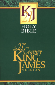 21st Century King James Bible, Hardcover   -