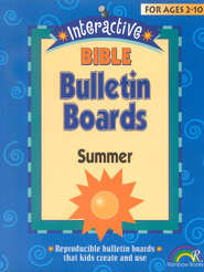 Interactive Bible Bulletin Boards:  Summer  -