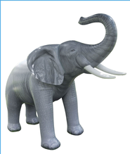 Elephant Inflatable Lifelike Animal, 84 High   -