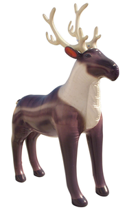 Reindeer Inflatable Lifelike Animal, 84 High   -