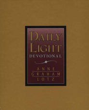 Daily Light Devotional (NKJV), Bonded Leather, Burgundy  -     By: Anne Graham Lotz