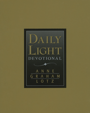 Daily Light Devotional - NKJV Bonded Leather - Black  -     By: Anne Graham Lotz