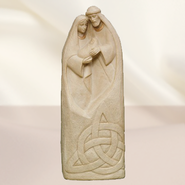 Holy Family with Trinity Knot Figurine  -