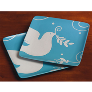 Peace Dove Dessert Plates, Set of 2  -