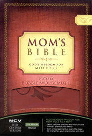 NCV Mom's Bible: God's Wisdom for Mothers, Imitation Leather   -     By: Bobbie Wolgemuth