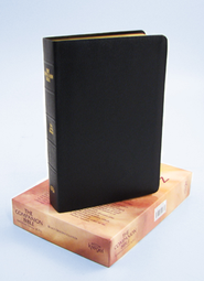 KJV Companion Bible, genuine leather, black   -     Edited By: E.W. Bullinger