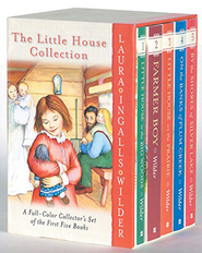 Little House on the Prairie Collections, 5-Volume Boxed  Set (Full Color)  -     By: Laura Ingalls Wilder