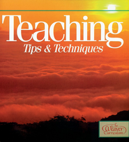 Teaching Tips & Techniques    -     By: Rebecca Avery