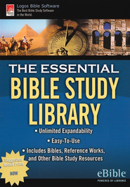 The Essential Bible Study Library on CD-ROM   -