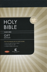 NKJV Pew Bible - Black  -