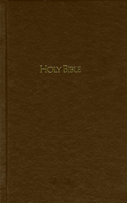 NKJV Pew Bible - Brown  -