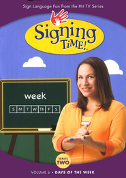 Days of the Week: Signing Time Series 2 Volume 6 DVD   -