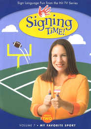 My Favorite Sport: Signing Time Series 2 Volume 7 DVD   -