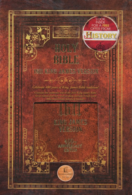 KJV 1611 Commemorative Edition - Hardcover Brown - Slightly Imperfect  -