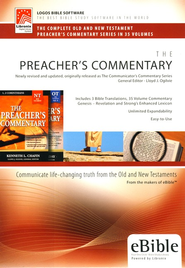 The Preacher's Commentary on CD-ROM   -     By: Lloyd J. Ogilvie