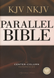 Nelson's KJV/NKJV Parallel Bible with Center-Column References  -