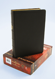 The King James Study Bible, 400th Anniversary Edition--genuine leather, brown - Slightly Imperfect  -